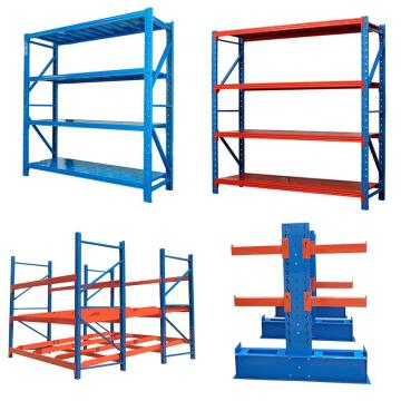 High Quality Industrial Metal Anti Corrosive Medium Duty Selective Warehouse Stacking Rack Pallet Storage