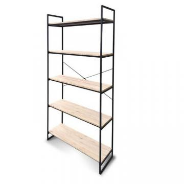 Metal Long Span Warehouse Storage 4-Tier Shelving Unit