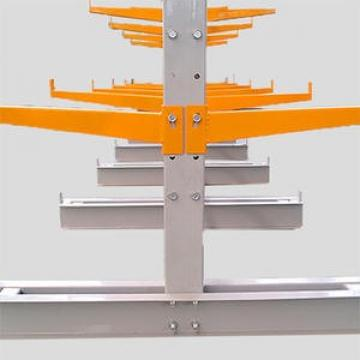 Commercial Heavy Duty Electric Cantilever Mobile Racking, Cantilever Rack