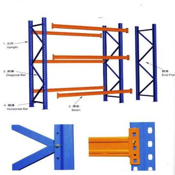Metal Middle Duty Warehouse Tools Storage Rack