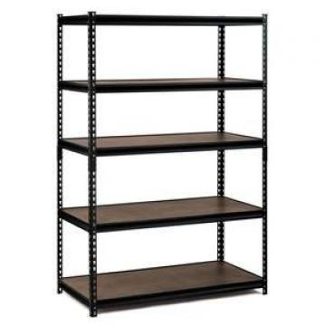 Black Heavy Duty Steel Garage Wire Shelving 4 Shelf Storage Rack Unit Organizer